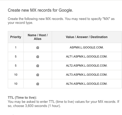 google apps mx file